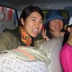 des chinoises au Tibet en vacances