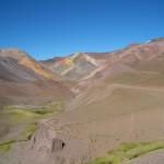 paysage désertique en montagne