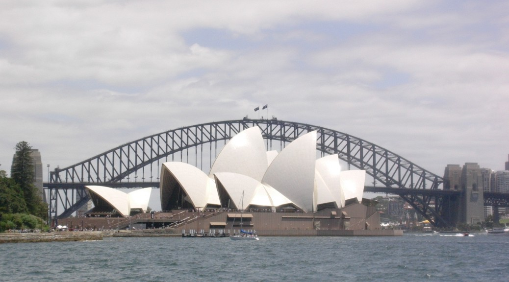 Opera et  Harbour bridge SYDNEY