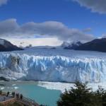 glacier perito Morino vue de la passerelle