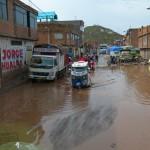 rue inondé a